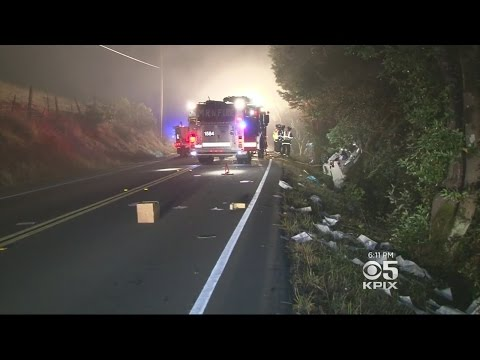 Horrific Marin County Crash That Killed 3 Men Under Investigation