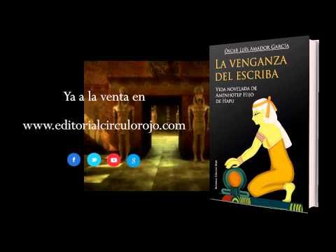 La venganza del escriba (Booktrailer) - Editorial Círculo Rojo