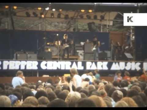 1979 Dr Pepper Central Park Music Festival, New York, Johnny Winter