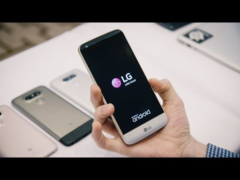 LG G5 preview at MWC 2016