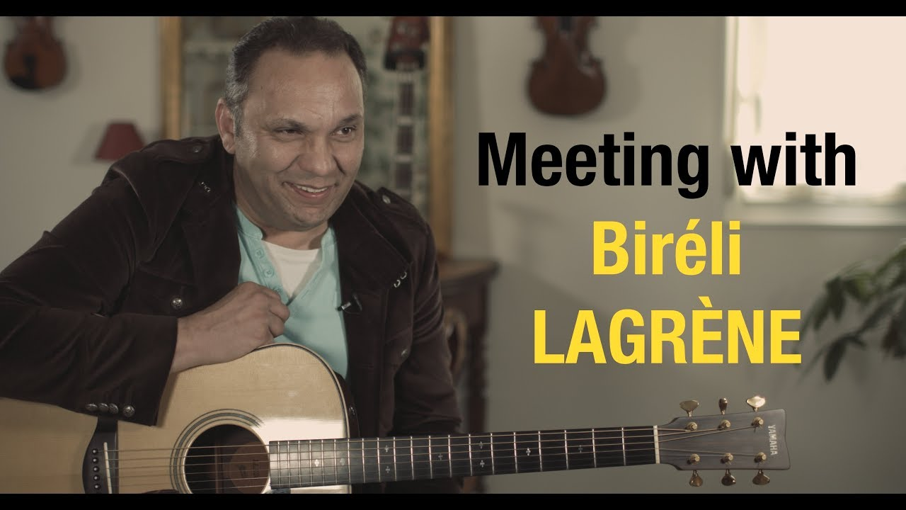 Exclusive meeting with Biréli Lagrène at home