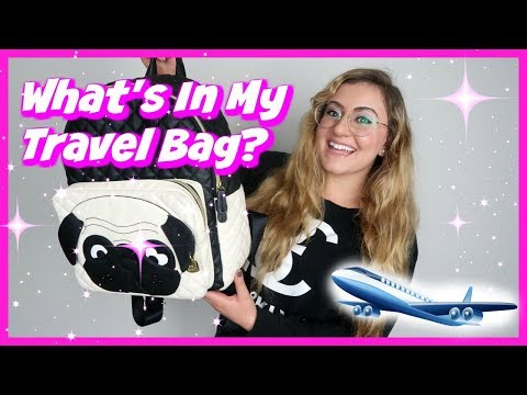 WHAT'S IN MY TRAVEL BAG? 2018 thumbnail