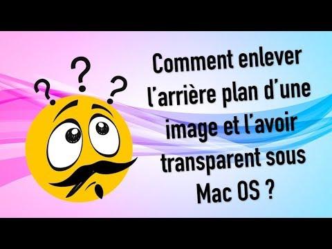 Arriere Plan Transparent Image Mac Os Apercu Youtube