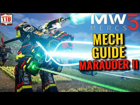 HOW TO PLAY THE MARAUDER II! (GUIDE) - Mechwarrior 5: Mercenaries DLC Heroes of the Inner Sphere |