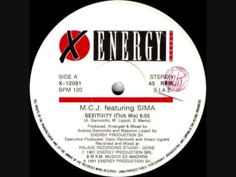 M.C.J. featuring Sima - Sexitivity (Club Mix)
