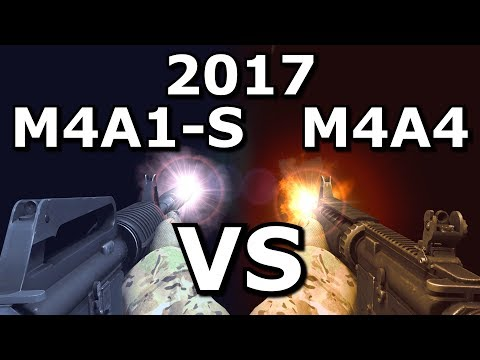 CS:GO's M4A4 VS M4A1-S - Which is better in 2017?