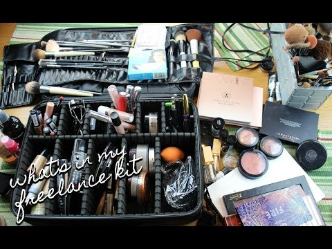 WHATS IN MY FREELANCE KIT - HOW TO START YOUR FREELANCE KIT ON A BUDGET | glossandtalk