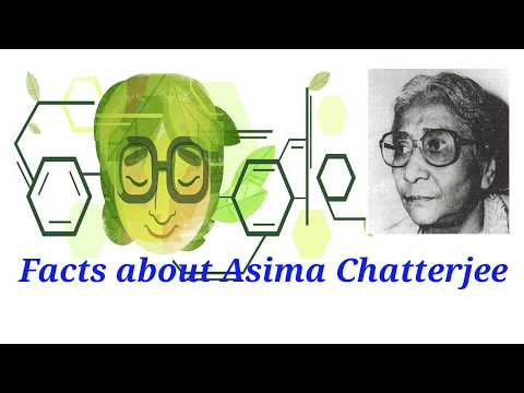 Asima Chatterjee Biography.Top 25 Facts about Asima Chatterjee