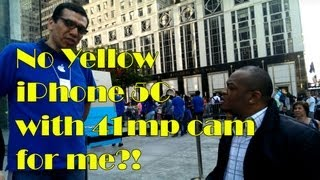 No Yellow iPhone 5C With 41mp Camera?!