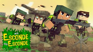 Minecraft: GUERRA DE YOUTUBERS! (Esconde-Esconde)