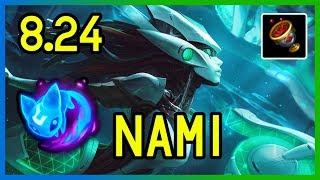 8 24 Nami Support Diamond League Of Legends