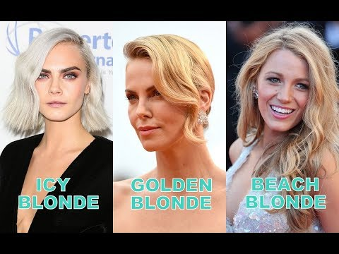 All 42 Types of Blonde