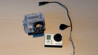DIY GoPro Hero 3 Mini-USB External Microphone Cable (No housing modification required)