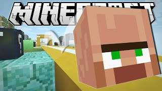 Minecraft | TRAYAURUS' GEOMETRY DASH!!