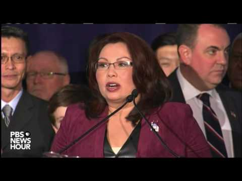 Tammy Duckworth touts victorious campaign based on