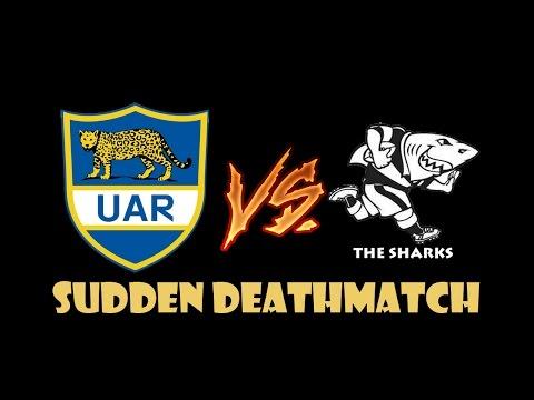 RUGBY 06 UNIVERSE LEAGUE : Sudden Deathmatch 9 – Argentina vs Sharks