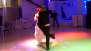 Танец жениха и невесты (огонь)
