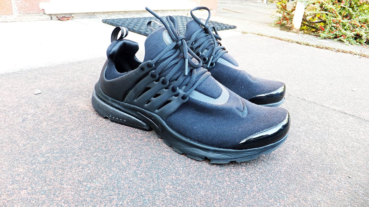 Air Presto Triple Black On Feet