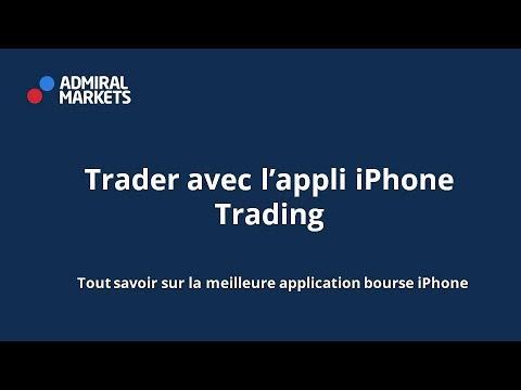 comment passer un trade sur lapplication iphone