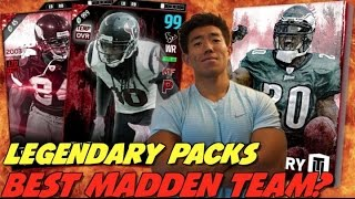 LEGENDARY PACKS & LEGEND GIVEAWAY! MADDEN 17 ULTIMATE TEAM!