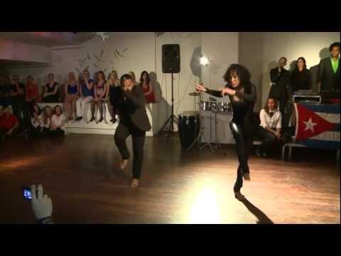 "Diana Rodriguez and Yoannis Tamayo. Stockholm Salsa Festival ""A lo Cubano"" 2012"