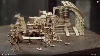 Ugears.  Фабрика роботов.  Идеальный подарок ребенку.