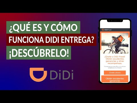 ¿Qué es y Cómo funciona DIDI Entrega? ¿Cómo Usar y Solicitar el Servicio de Envío de Paquetes?