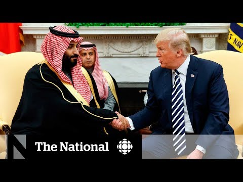 CBC News: The National: Trump says U.S. won't punish Saudis for role in Khashoggi killing