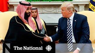 Trump says U.S. won't punish Saudis for role in Khashoggi killing