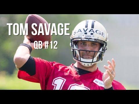 Tom Savage Raw Footage From Saints Training Camp