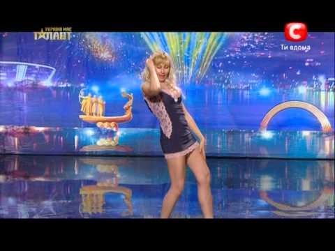 Ольга Балафин,Донецк. Україна має талант.