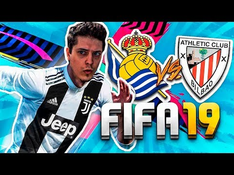 AVISO, SOY COJO | DJSOKI EN FIFA 19 REAL SOCIEDAD VS ATHLETIC CLUB