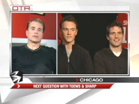 "OTR ""Next Question"" with Jonathan Toews and Patrick Sharp #2"