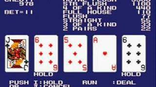 PC Engine Gaming: AV Poker - World Gambler