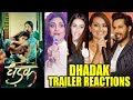 Bollywood Celebs REACTION On Jhanvi Kapoor & Ishaan Khattar DHADAK Movie Trailer | Dhadak New Poster