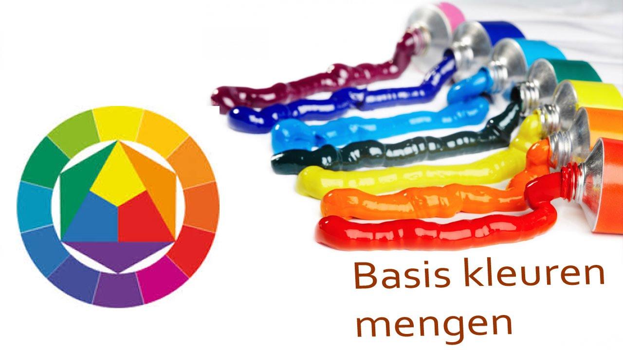 Bcwa hoe meng je kleuren basis verf techniek craftmama youtube - Hoe een verf kleur voorbereiden ...