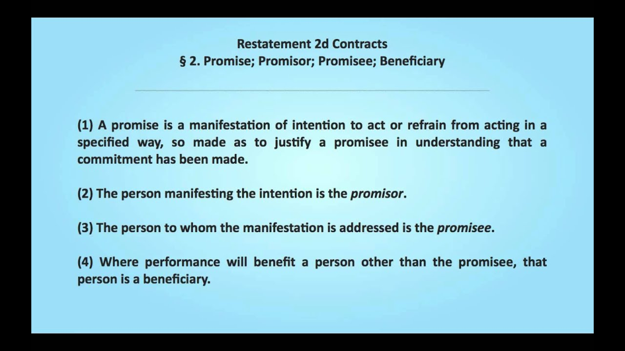 Promissory Estoppel Law and Legal Definition