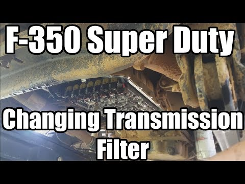F-350 Super Duty: Changing the Transmission Filter