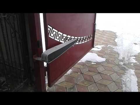 рекомендуют автоматика для распашных ворот в зиму интенсивных