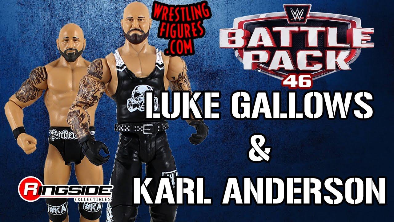 WWE Mattel Basic 46 the OC Club Balle Luke Gallows et Karl Anderson