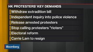 Hong Kong Protests Enter Crucial Period Before China's National Day