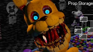 PIT BONNIE is BACK! DO NOT GO NEAR THE BALL PIT! | FNAF Ultra Custom Night