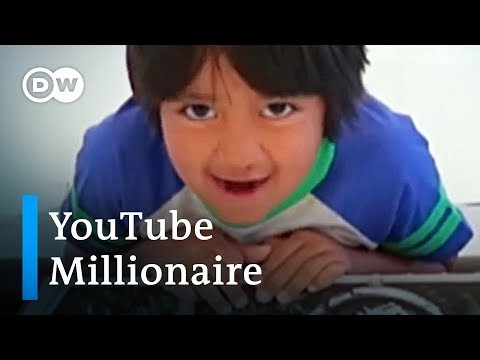 8-year old boy is now highest earning Youtube influencer | DW News thumbnail