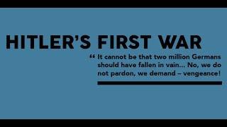 Hitler's First War - Thomas Weber