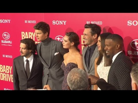 """Baby Driver"" Premiere"
