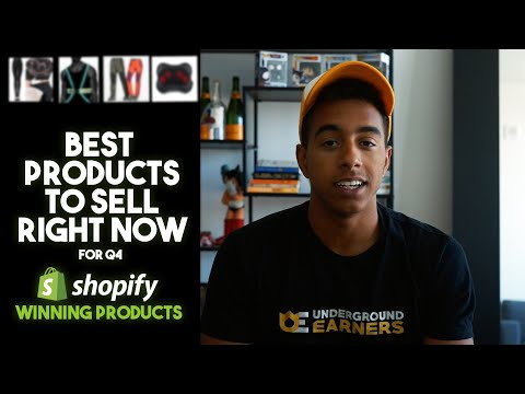 5 Winning Product To Sell For Q4 | Shopify Dropshipping 2019 thumbnail