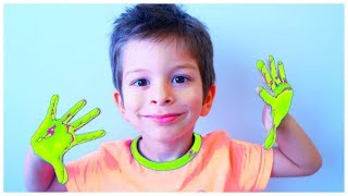 Fam Finger Song - Fun English Rhymes by Kids Learning Songs