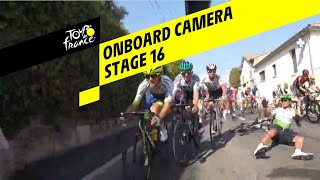 Onboard video van etappe 16 Tour de France 2019
