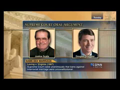 Supreme Court:  Obergefell V. Hodges - Oral Arguments - 2015