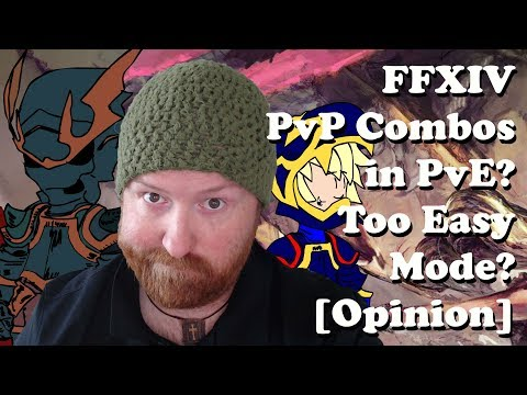 FFXIV PvP Combos In PvE? Too Easy Mode? [Opinion] - YouTube